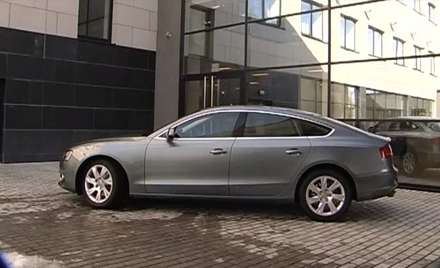 Audi A5 Sportback 2010 — Игорь Бурцев