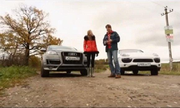Audi Q7 4.2 TDI, Porsche Cayenne Diesel 2013 — Выбор есть!