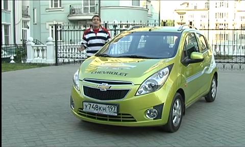 Chevrolet Spark 2011 — Наши тесты
