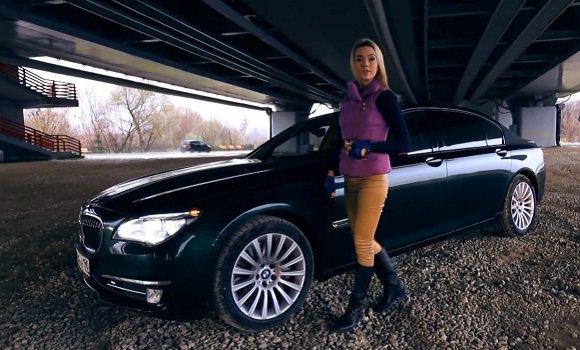 BMW 760Li 2013 — Москва рулит