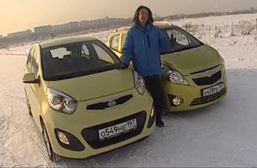 Chevrolet Spark vs Kia Picanto — Наши тесты