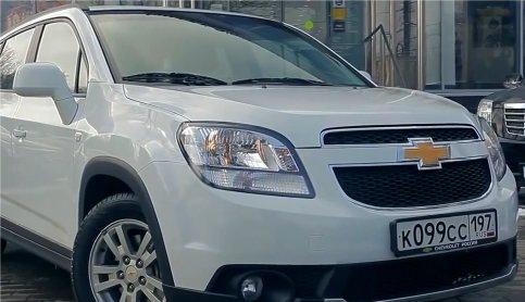 Chevrolet Orlando 2013 — Пётр Баканов