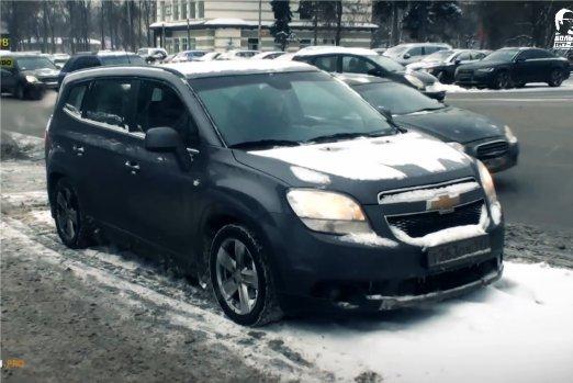 Chevrolet Orlando 2012 — Большой тест-драйв