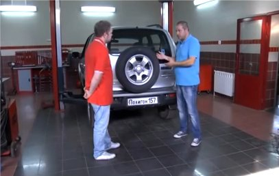 Chevrolet Niva vs Renault Duster - Полигон