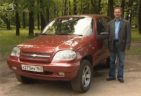 Chevrolet Niva 2008 — Тест-драйв