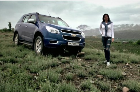 Chevrolet Trailblazer 2013 — АвтоВести