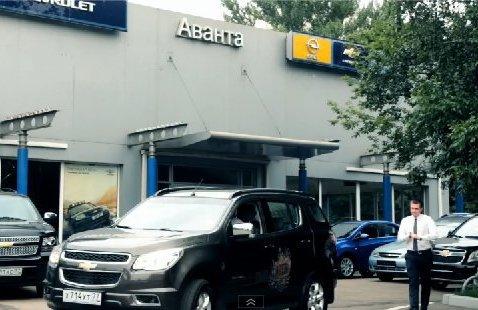 Chevrolet TrailBlazer 2013 — Роман Коробкин