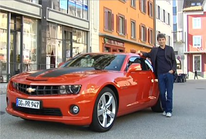 Chevrolet Camaro 2012 — Наши тесты
