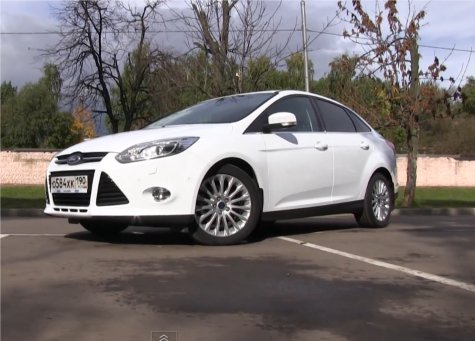 Ford Focus 3 Sedan 2011 — ATDrive