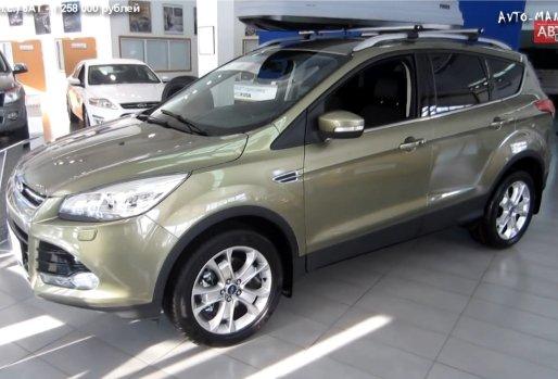 Ford Kuga 2013 — Anton Avtoman