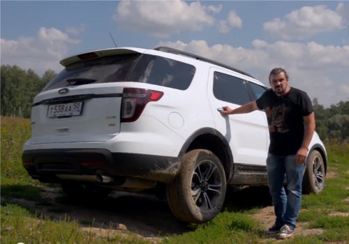 Ford Explorer Sport 2013 — Моторы