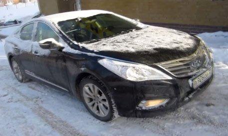 Hyundai Grandeur 2012 — Anton Avtoman