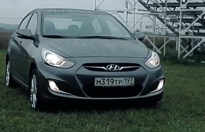 Hyundai Solaris 2012 — Пётр Баканов
