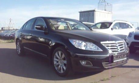 Hyundai Genesis 2011 — MegaRetr