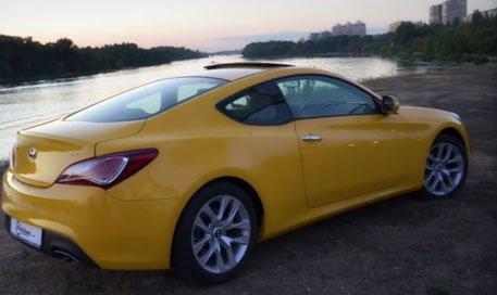 Hyundai Genesis Coupe 2012 — Первая пердача