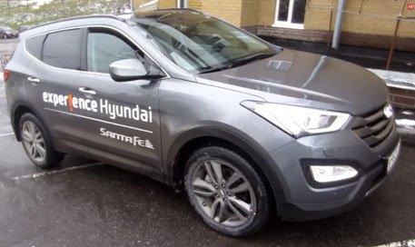 Hyundai Santa Fe 2013 — Anton Avtoman