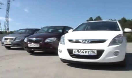 Hyundai i20 vs Chevrolet Aveo vs Skoda Fabia — Сравнительный