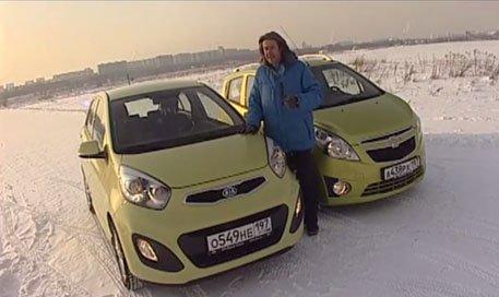 Kia Picanto vs Chevrolet Spark — Наши тесты