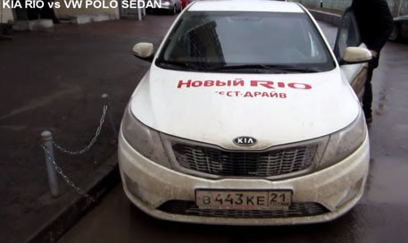 Kia Rio Sedan vs Volkswagen Polo Sedan -  Anton Avtoman