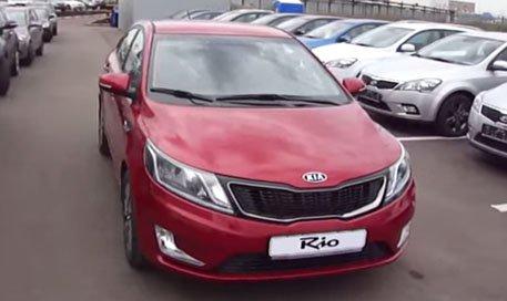 Kia Rio Sedan 2011 — MegaRetr