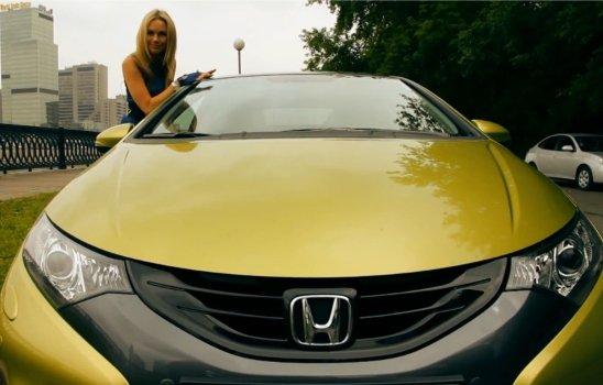 Honda Civic 5D 2012 — Москва рулит