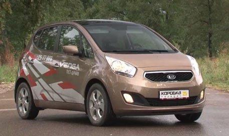 Kia Venga 2012 — Коробка передач
