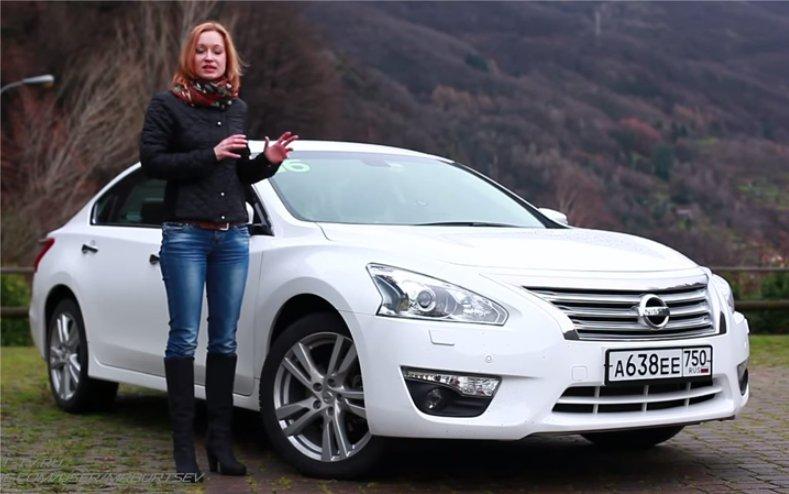 Nissan Teana 2014 — Игорь Бурцев feat. Анастасия