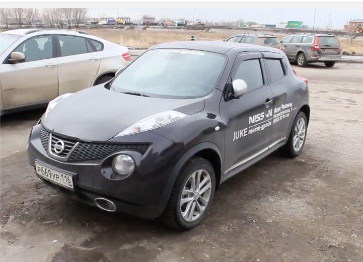 Nissan Juke 2013 — MegaRetr