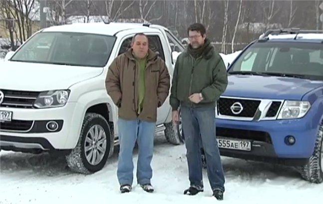 Nissan Navara vs Volkswagen Amarok — Наши тесты