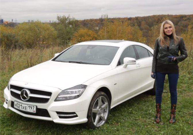 Mercedes CLS 500 — Москва рулит