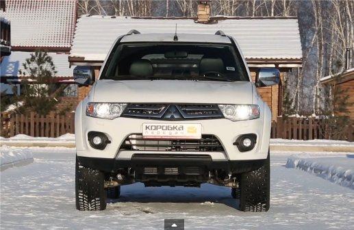 Mitsubishi Pajero Sport 2013 — Коробка передач