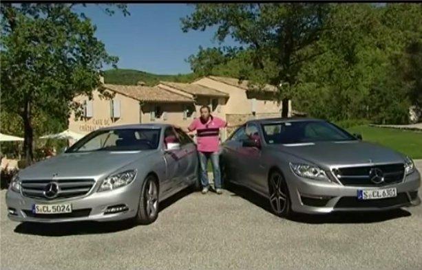Mercedes CL 500 и Mercedes 63 AMG — Наши тесты