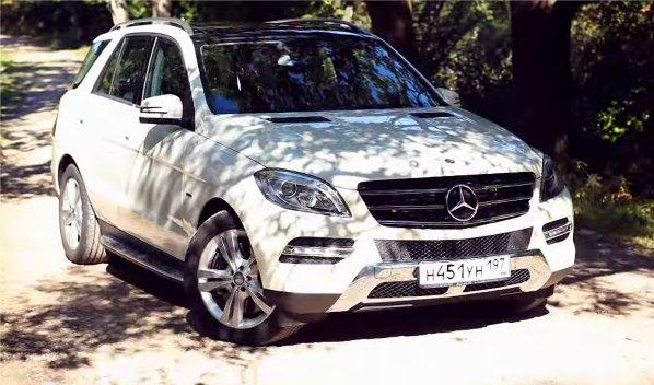 Mercedes-Benz ML500 2012 — Москва рулит