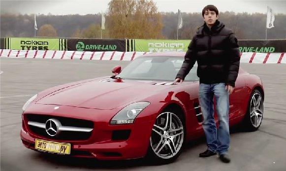 Mercedes SLS AMG 2011 — АвтоИтоги