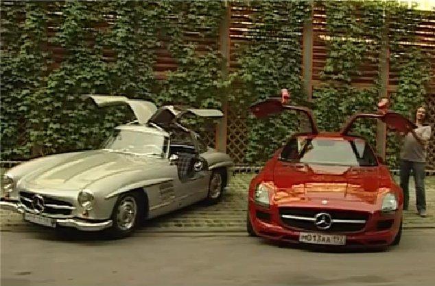 Mercedes SLS AMG — Наши тесты