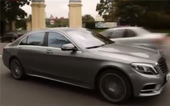 Mercedes S-Сlass W222 2013 — Grand test