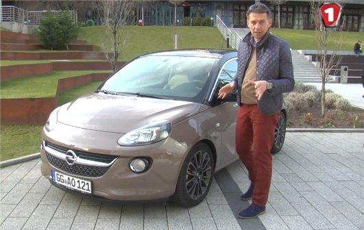 Opel Adam 2013 — Первый тест