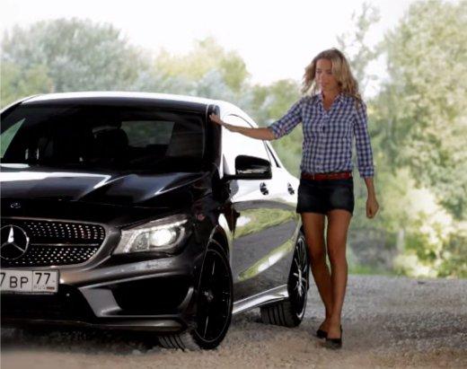Mercedes CLA-Class 2013 — Москва рулит