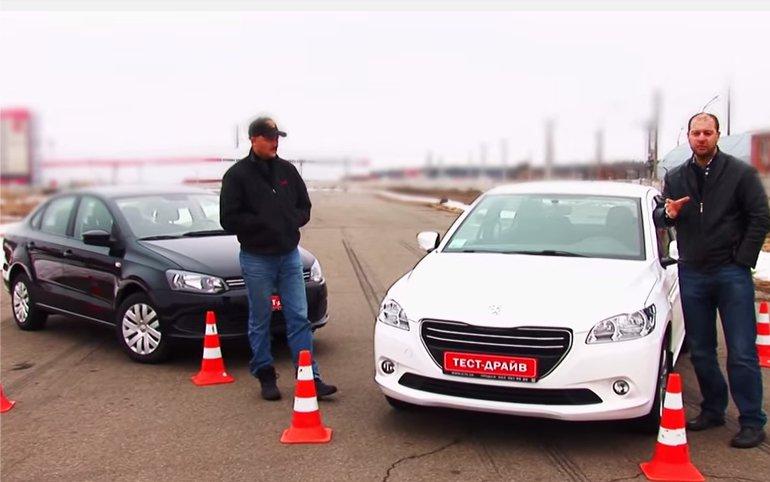 Peugeot 301 vs Volkswagen Polo — Две Лошадиные Силы