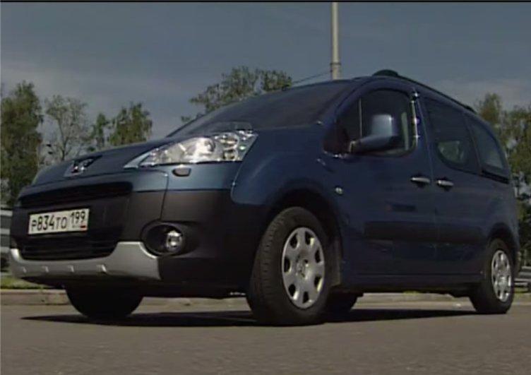 Peugeot Partner Tepee 2013 — Наши тесты