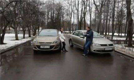 Opel Astra Sedan, Volkswagen Jetta — Выбор есть