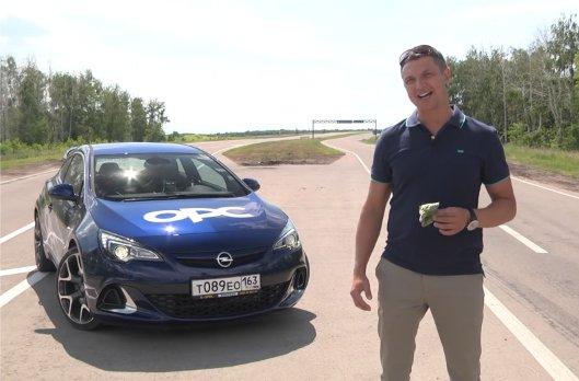 Opel Astra Opc 2013 — Игорь Бурцев