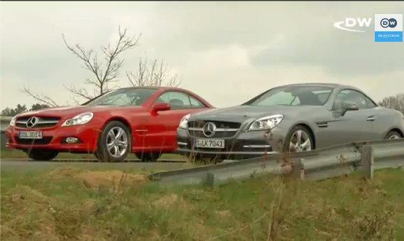 Mercedes SLK vs SL — Сравнительный