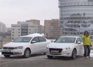 Peugeot 508 vs Volkswagen Passat — Наши тесты