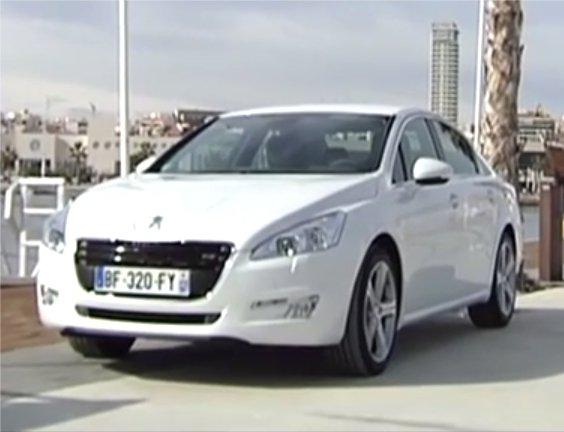 Peugeot 508 2012 — Наши тесты