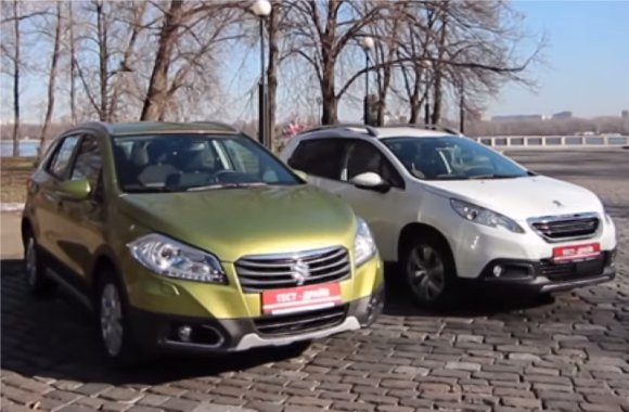 Peugeot 2008 vs Suzuki SX4 — Две лошадиные силы