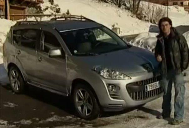 Peugeot 4007 2009 — Наши тесты