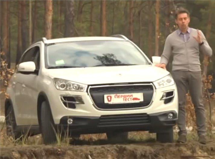 Peugeot 4008 2012 — Первый тест