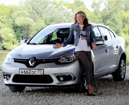 Renault Fluence 2013 — Москва рулит