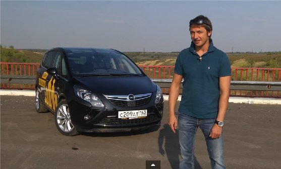 Opel Zafira Tourer 2012 — Игорь Бурцев